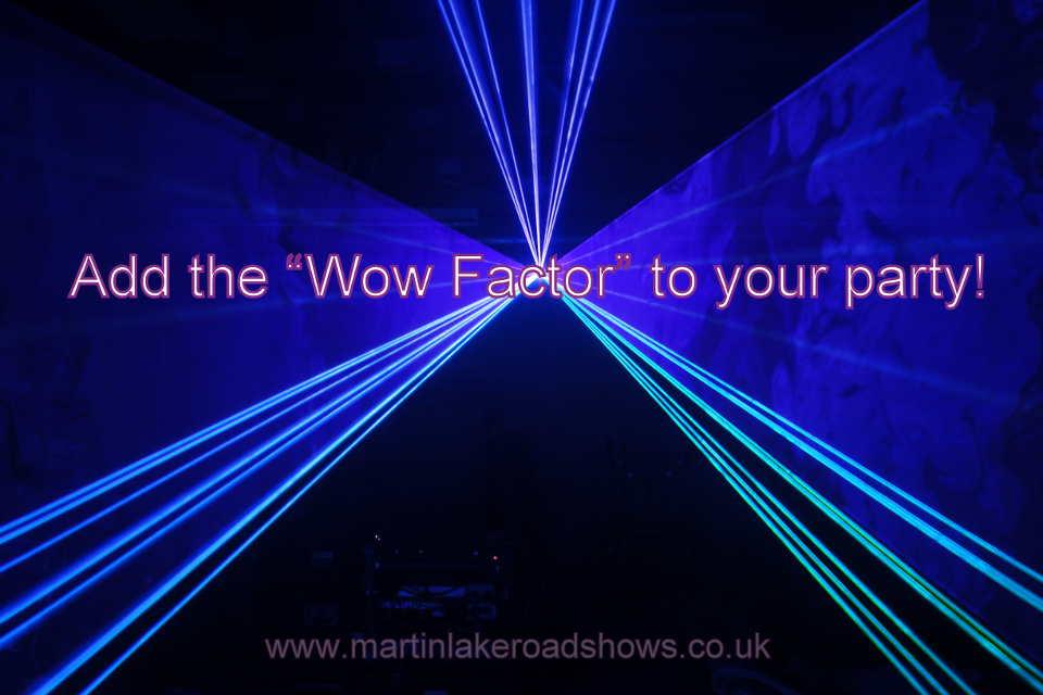 DJ Martin Lake's Laser Show, Hampshire