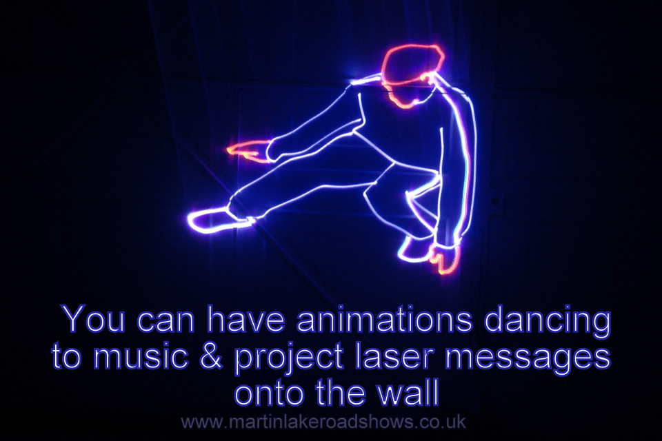 Southampton Disco Laser Animation