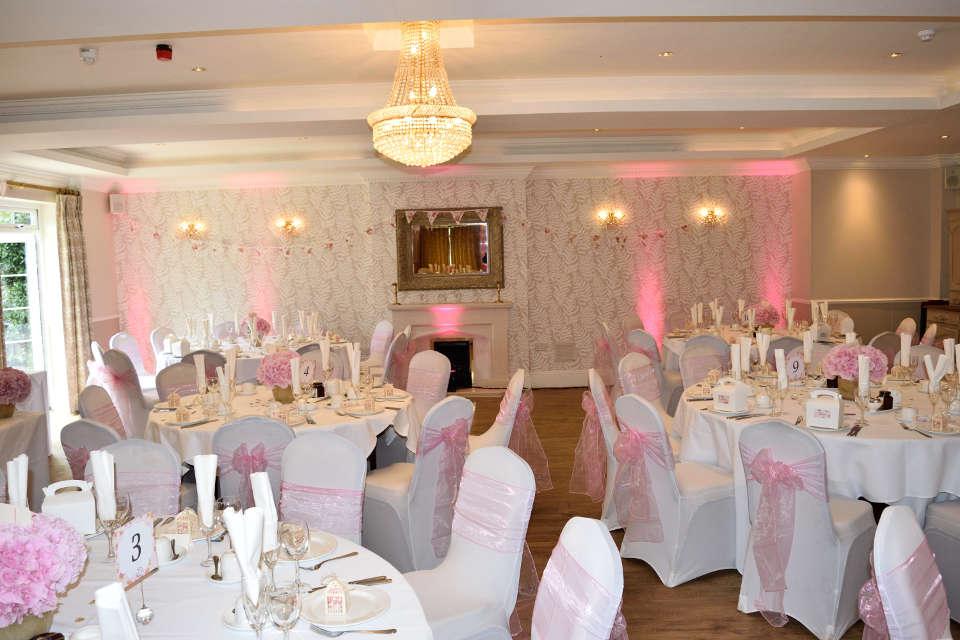 Beaulieu Hotel Wedding Reception