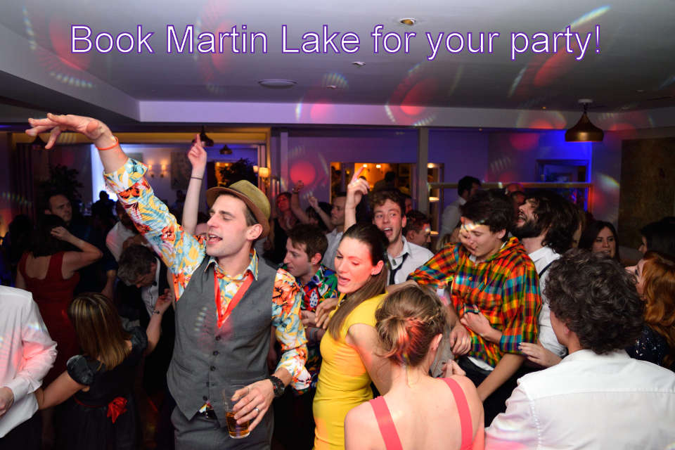 Book Martin Lake To DJ Your Party