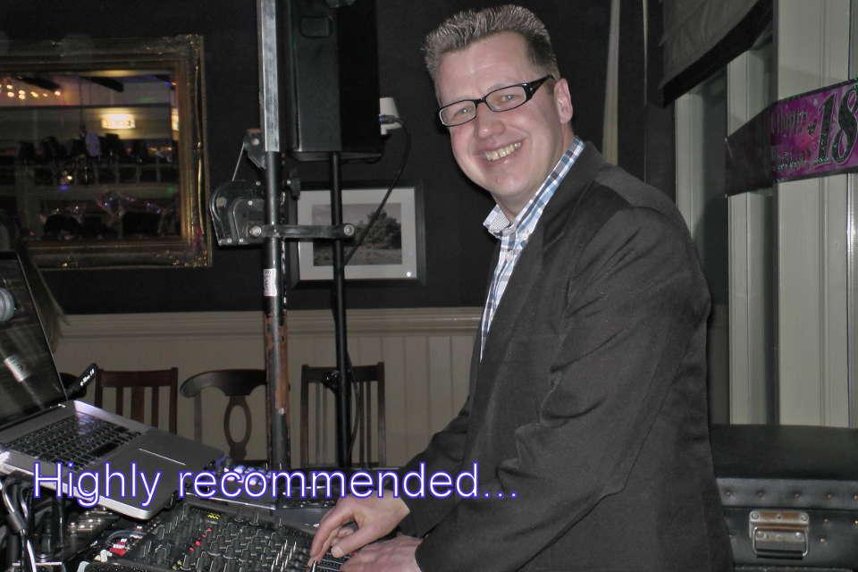 DJ Martin Lake On The Decks Hampshire