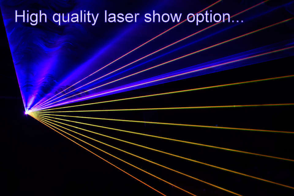 High Quality Laser Show Hampshire