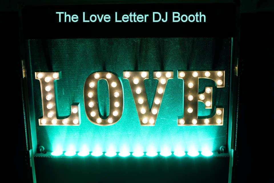 Love Letter DJ Booth - DJ Martin Lake