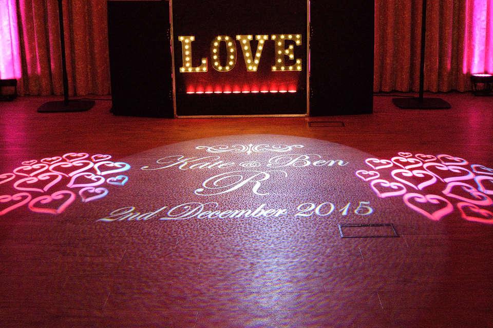 Wedding monogram - DJ Martin Lake