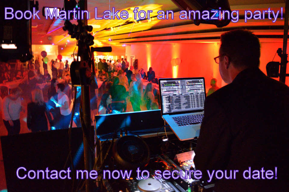 Book Martin Lake For An Amazing Party