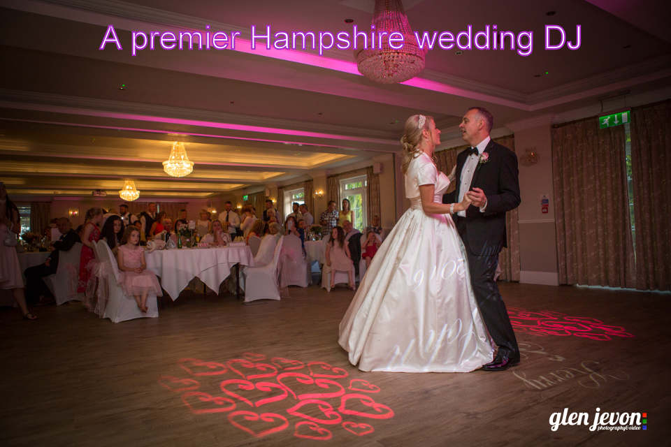 A premier Hampshire wedding DJ - Martin Lake