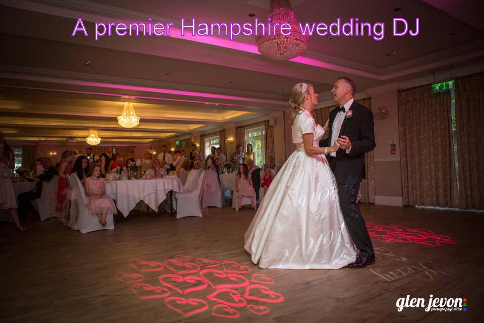 A premier Hampshire wedding DJ - Martin Lake