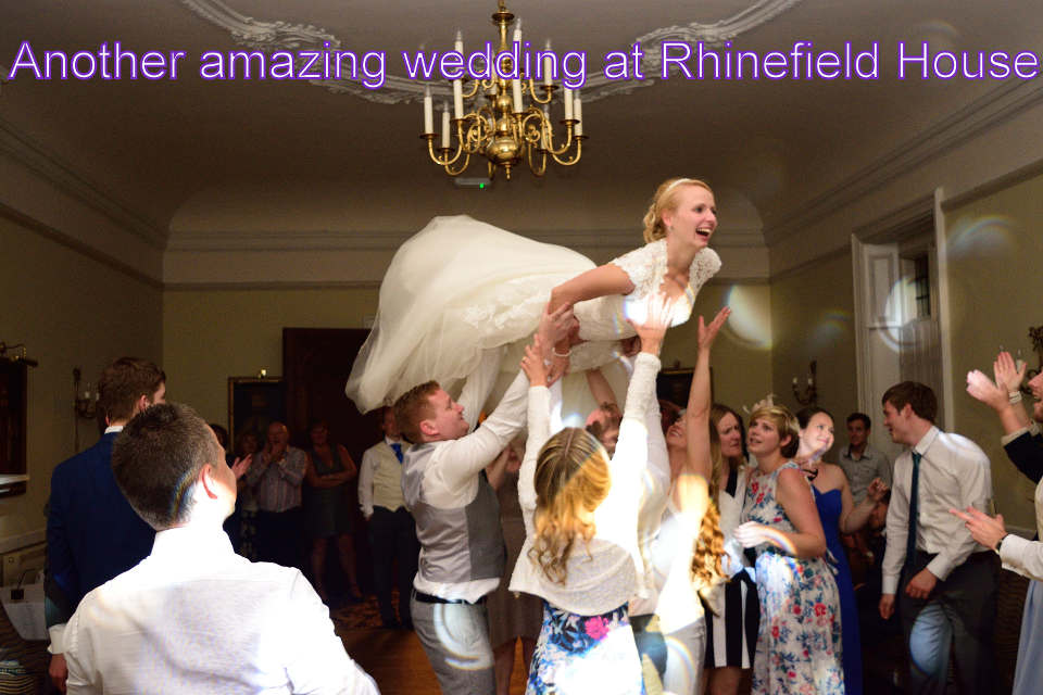 Another amazing wedding at the Rhinefield