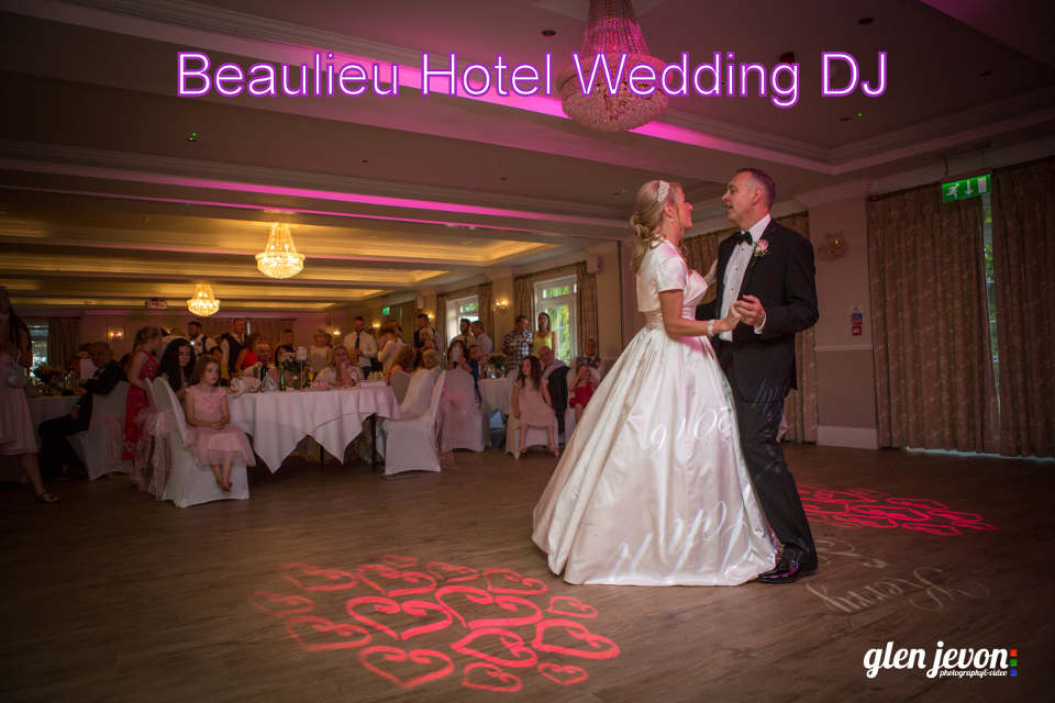 Beaulieu Hotel Wedding DJ - John & Kerry's First Dance