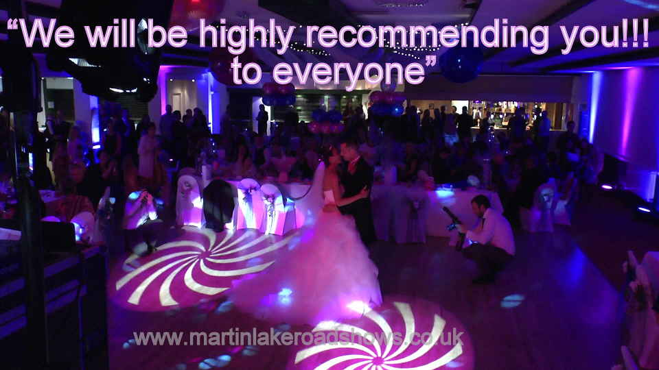 Darren & Lauren - Hampshire Wedding DJ Martin Lake Review