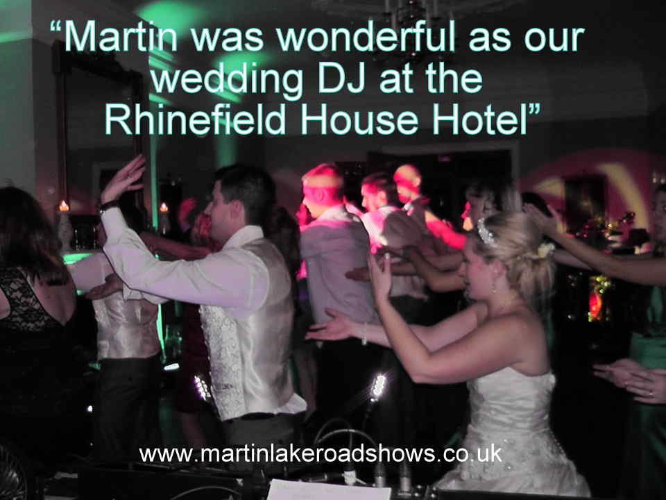 Dave & Claire - Hampshire Wedding DJ Martin Lake Review