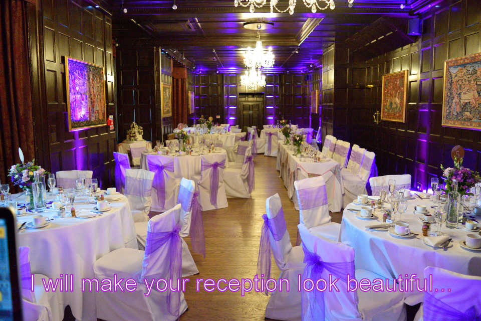 Beautifil Uplighting - Bartley Lodge