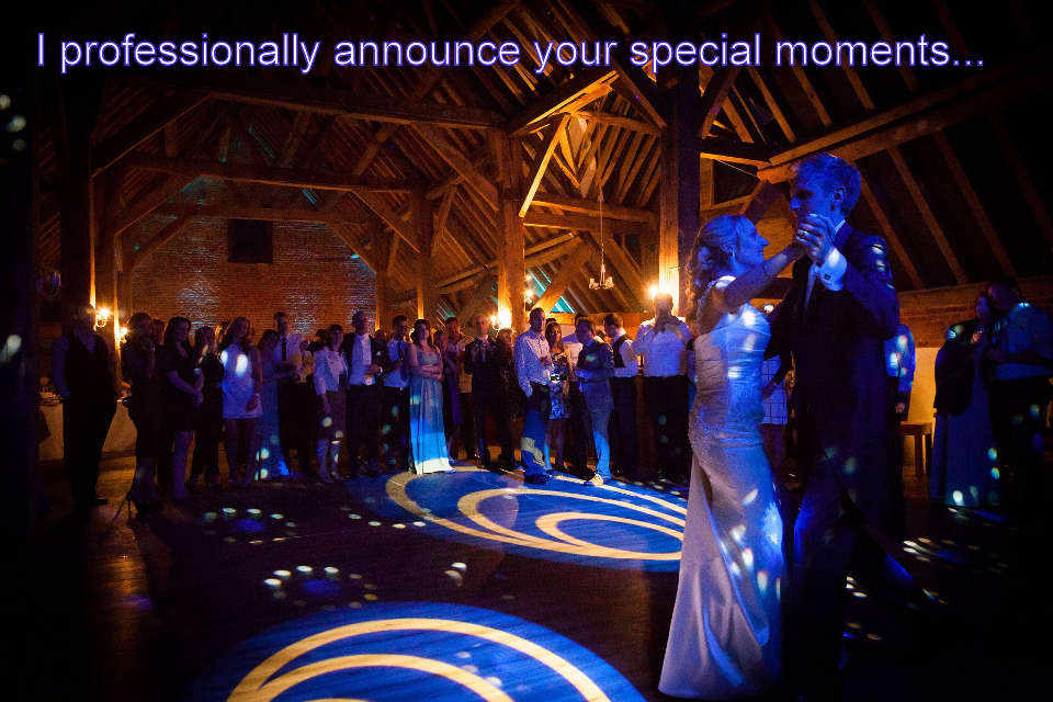 John & Charlene - Hampshire Wedding DJ Martin Lake Review