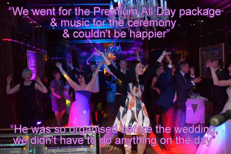 Lewis & Michelle - Hampshire Wedding DJ Martin Lake Review