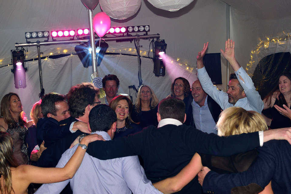 Romsey Birthday Party In A Marquee