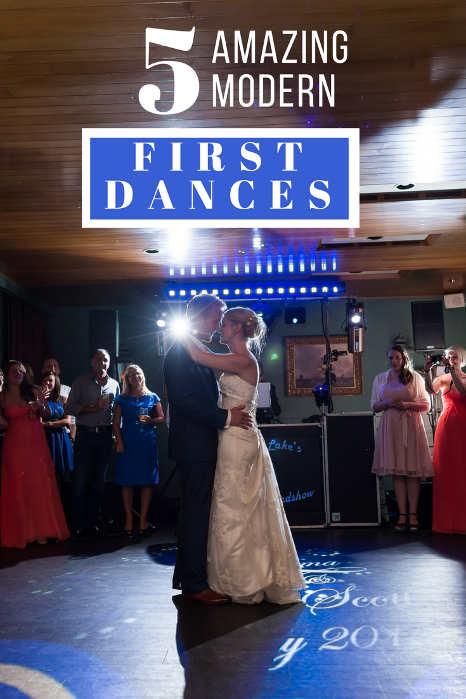 5 Amazing Modern First Dances - Hampshire DJ Martin Lake