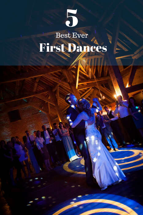 5 Best Ever First Dances - Hampshire DJ Martin Lake