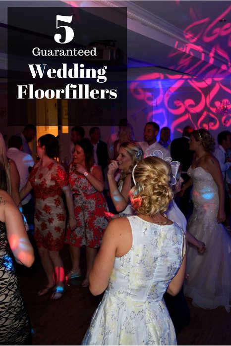 5 Guaranteed Wedding Floorfillers - Hampshire DJ Martin Lake
