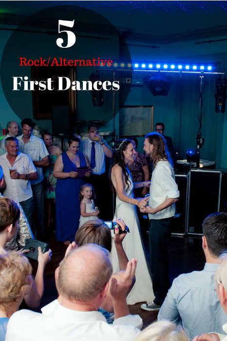 5 Rock & Alternative First Dances - Hampshire DJ Martin Lake