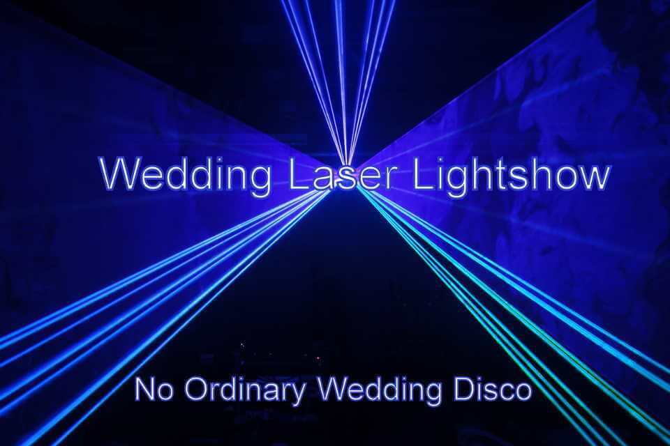 Laser Lightshow At A Wedding - Hampshire