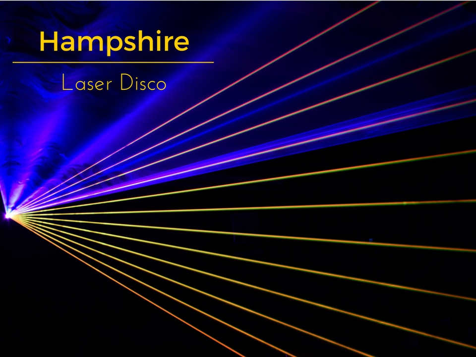 Hampshire Laser Disco - DJ Martin Lake