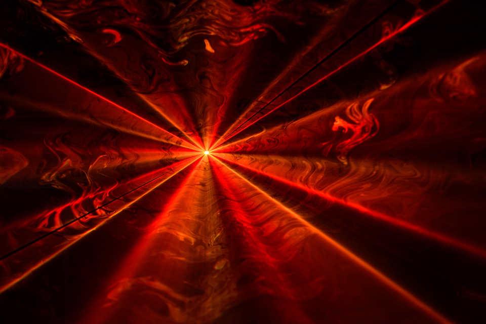 Laser Lightshow - DJ Martin Lake
