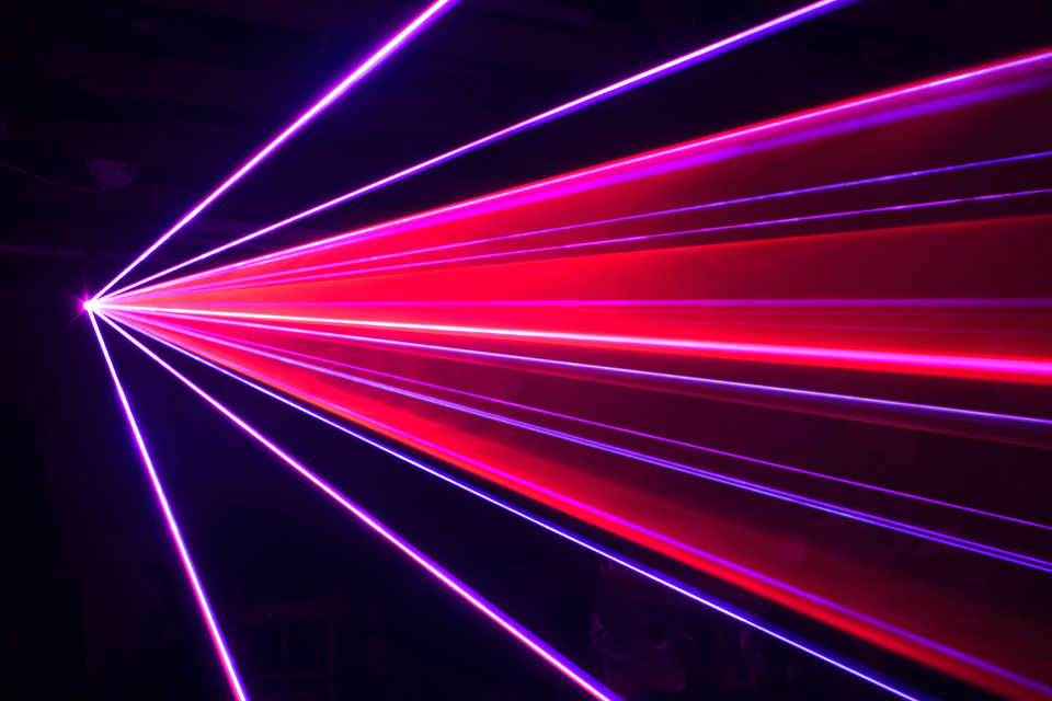 Laser Lightshow - Martin Lake Roadshows