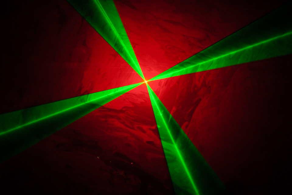 Swisslas Laser Lightshow - DJ Martin Lake