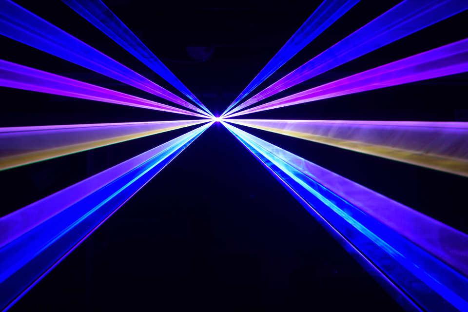 The Laser Show - DJ Martin Lake