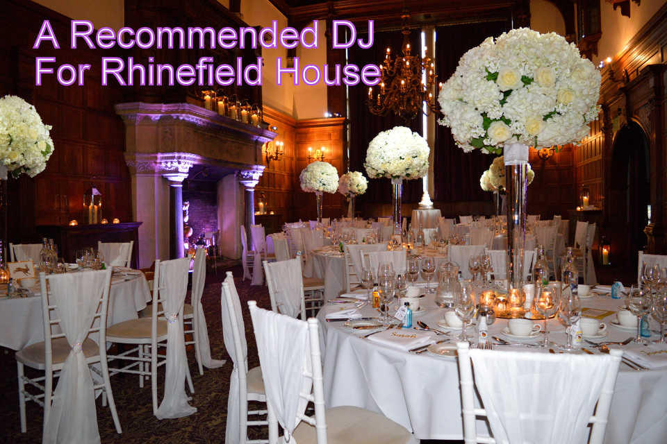 A Recommended DJ For Rhinefield House