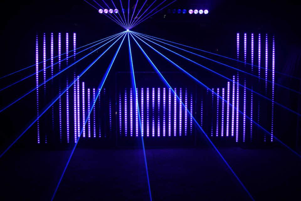 The Pixel Laser Show - DJ Martin Lake