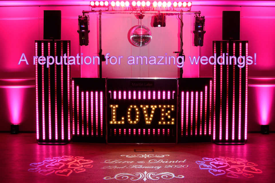 A Reputation For Amazing Weddings - DJ Martin Lake