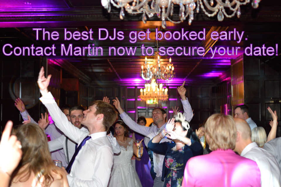 Bartley Lodge & New Forest Wedding DJ Martin Lake