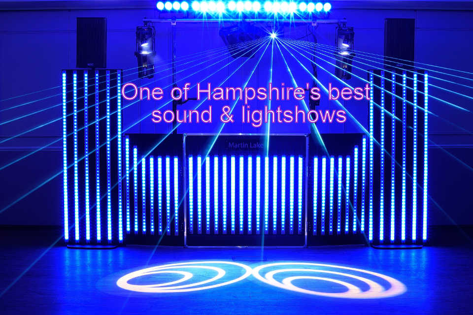 One of Hampshire's Best Sound & Lightshows - DJ Martin Lake