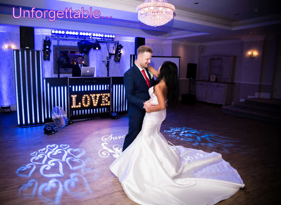 Unforgettable - Beaulieu Wedding DJ Martin Lake