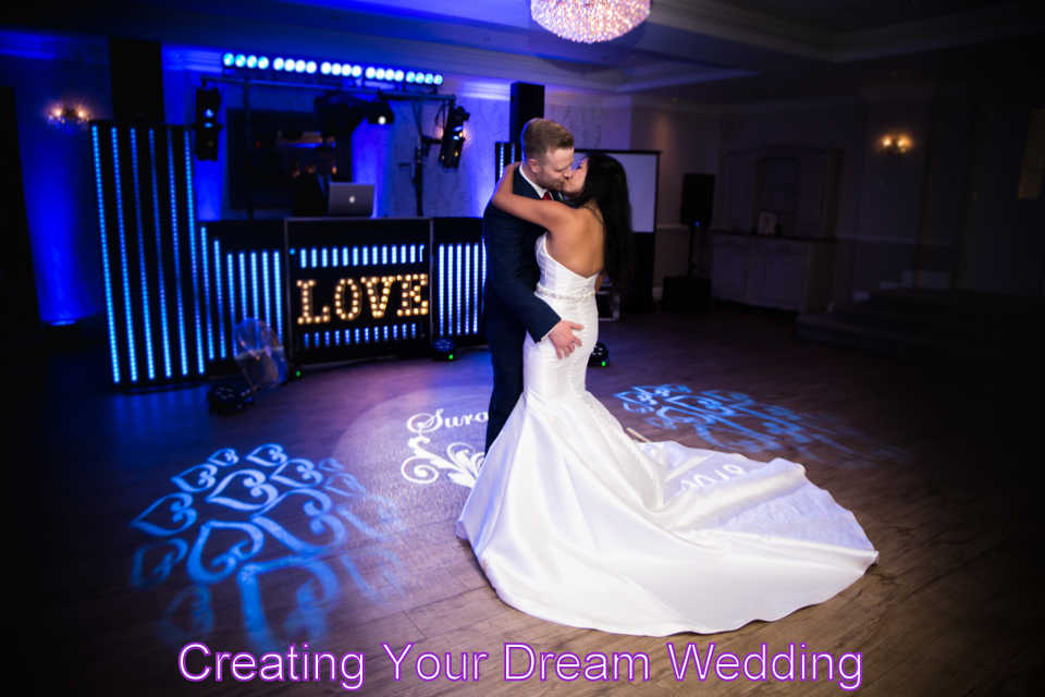 Wedding DJ Martin Lake Creatiing Your Dream Wedding