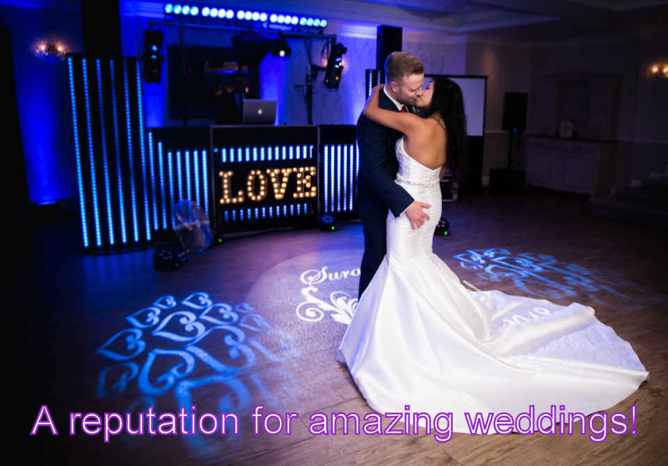 First Dance At Beaulieu Hotel - DJ Martin Lake