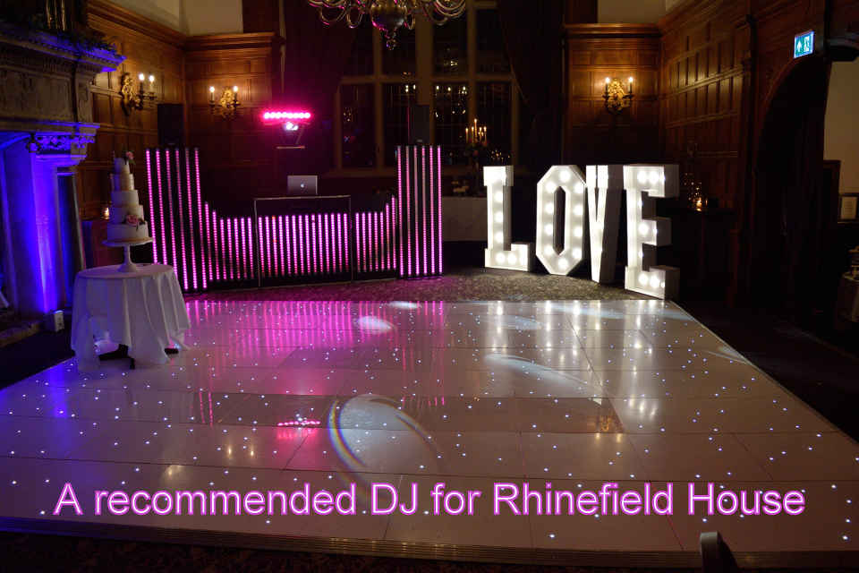 Recommended DJ For Rhinefield House